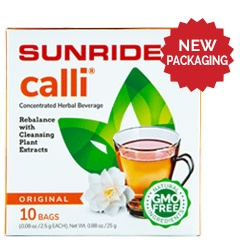 Sunrider® Calli Tea 10 Bags (0.08 oz./2.5 g each bag)