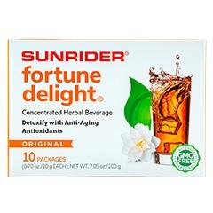 Sunrider® Fortune Delight Regular 10/20 g Packs (0.70 oz./20 g each bag)