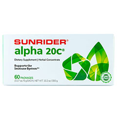 Sunrider® Alpha 20C® 60 Packs - Powder (0.17 oz./5 g each bag)