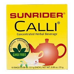 Sunrider® Calli Tea Mint 60 Bags (0.08 oz./2.5 g each bag)